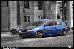 Citroen Saxo VTS by SpinnerBG