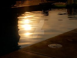 watery reflection. by LateRainyNights