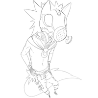 toxic punk dog line pre by phation