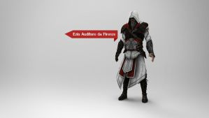 AC - Ezio Auditore da Firenze Wallpaper by Binary-Map