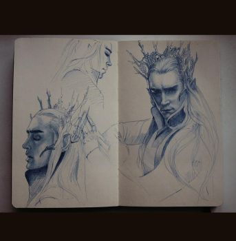 Thranduil by MaryRiotJane