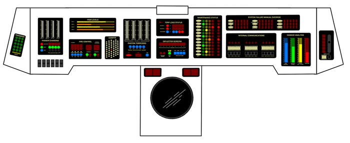 Weapons and D+R Console - TMP by Keiichi-K1