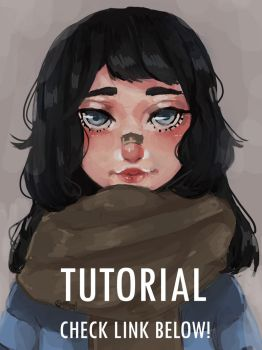 Rough Pastel Coloring Tutorial by wafflerp