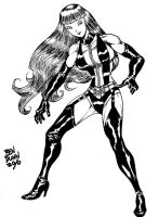 Silk Spectre Watchman by Dogsupreme
