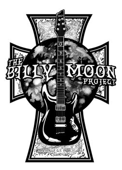Billy Moon Project Logo Black and white by mdalton