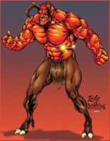 Orcus villian of War by PeterPalmiotti