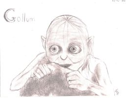 my prescious gollum by alex16