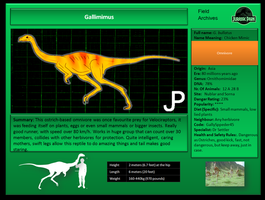 JP Gallimimus by ToxicKittyCat
