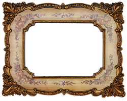 vintage frame by mistyt-stock