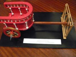Ancient Roman Parade Chariot by LacheV