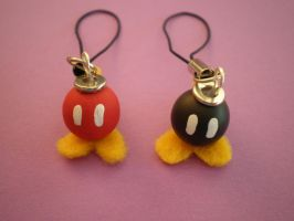 Bob-omb Charms by Omonomopoeia