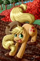 Applejack Commission by Shaami