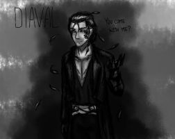 Diaval - Malefica by LizzART-Drawing