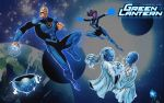 Blue Lantern Corps by Xionice