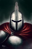 That knight guy by Nosfer