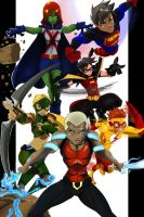 Young justice Final by SketchSchmidt-Art
