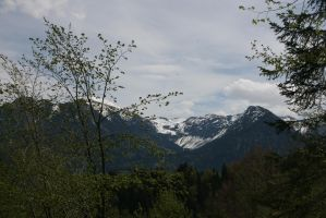view to mountain 29 by ingeline-art
