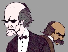 The Professor and the Colonel by TheMorlock