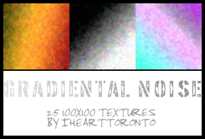 Gradiental Noise Textures by ihearttoronto