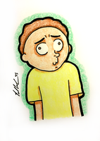 Derpy Morty Smith by chelano