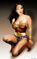Wonder Woman: circa 2001 by ROCINATE