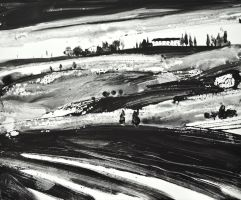 Toscana 3 BN by andreuccettiart