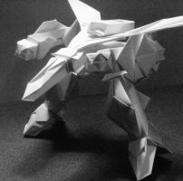 Macross Origami Tribute by Kamitoyz