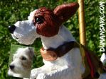 Custom Carousel Dog Sculpture by DumansArk