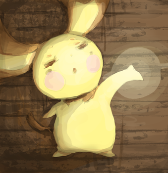 For Tiny-pichu by PinkGermy