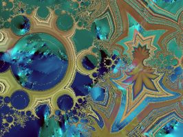 to be framed by fractalhead