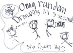 randome drawing in five second by ilavchalupa