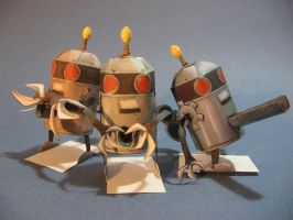 Fruit robot group shoot by TylerTinsley