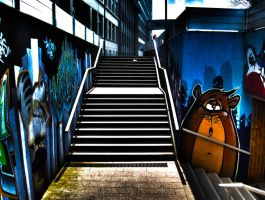 Stairway HDR by Rayquin