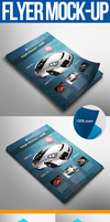 Flyer Mock-up by snkdesigns