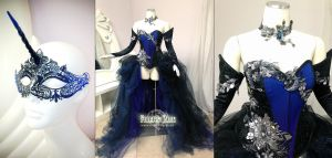 Princess Luna Ball Gown by Lillyxandra