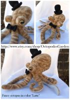 Fancy octopus plush by Darizard