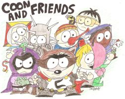 Coon and Friends by NewtMan