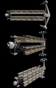 Very Large Cargo Carrier - WIP by Reactor-Axe-Man
