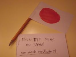 RAISE THE FLAG FOR JAPAN by mosobot64