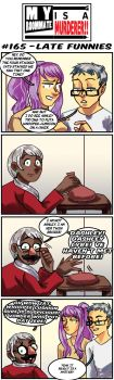 MRIAM: #165 - Late Funnies by SonicWolvelina99