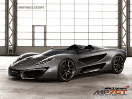 Mclaren MP7GT Roadster concept by Jakusa1