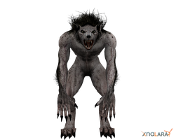 Alpha Werewolf for XNALara by deexie
