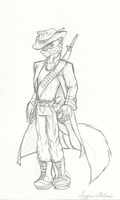:Monday Sketch Request: Alpha the Wolf by Hyperchaotix