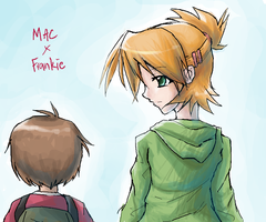 Mac and Frankie by Ge-B