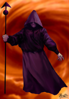 Mortal Kombat II: Shadow Priest (Background) by JhonatasBatalha