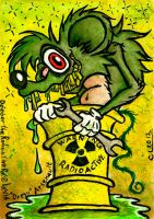 Doober the Radioactive Rat by chricko