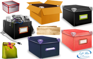 Boxes + - PNG by lifeblue
