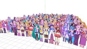 Paper Crowd Pack by Yagakoro