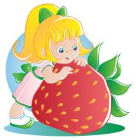 Strawberry fairy vector by jkBunny