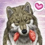 Wolf Smile by SheltieWolf